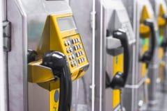 Telephone callbox Stock Photo