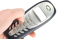 Telephone calling Stock Photos