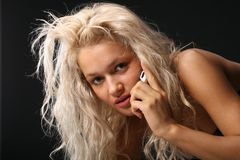 Telephone calls Stock Photography