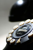 Telephone Close up. A close up of a telephone shows all the details and the numbers on the buttons Stock Photography