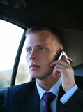 Telephone conversation royalty free stock image