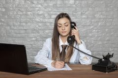 Telephone conversation and signing documents at the same time by