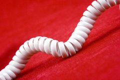 Telephone Cord Royalty Free Stock Photo