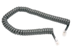 Telephone cord Royalty Free Stock Images