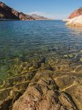 Telephone Cove, Lake Mohave stock image