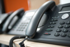 Telephone customer service Stock Images