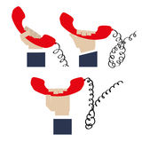 Telephone design Stock Photos