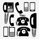 Telephone design Stock Photo