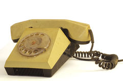 Telephone device vintage Stock Images