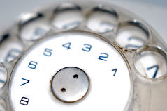 Telephone dialplate Royalty Free Stock Photography