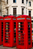 telephone in england london  classic british icon Stock Images