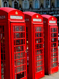 telephone in england london   classic british Royalty Free Stock Photo