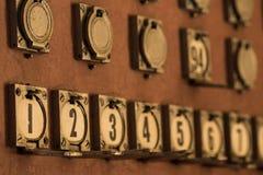 Telephone Exchange Numbers Royalty Free Stock Photos