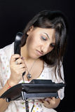 Telephone Frustration Royalty Free Stock Photos