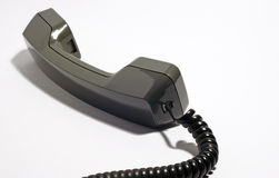 Telephone handset. An image of a telephone handset royalty free stock image