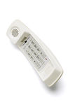 Telephone handset with keypad Stock Photos