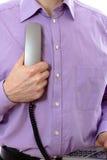 Telephone handset Stock Photos