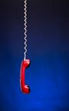 Telephone handset Royalty Free Stock Photo