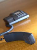 Telephone headset royalty free stock image