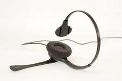 Telephone headset Stock Photo