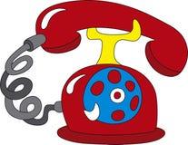 Telephone icon royalty free stock photography