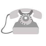 Telephone icon Stock Photo
