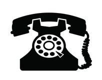 Telephone icon Stock Image
