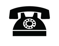 Telephone icon Royalty Free Stock Photo