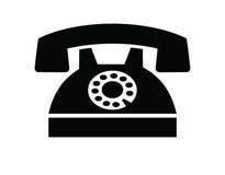Telephone icon Royalty Free Stock Photo