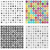 100 telephone icons set vector variant. 100 telephone icons set vector in 4 variant for any web design isolated on white Stock Photo