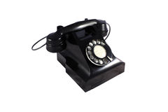 Telephone - isolated with clipping path Stock Image