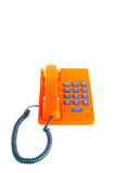 Telephone isolated on white background. Royalty Free Stock Images