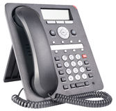 Telephone isolated on white Stock Photo