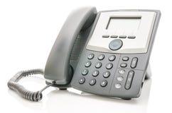 Telephone isolerade över vit Royaltyfri Fotografi