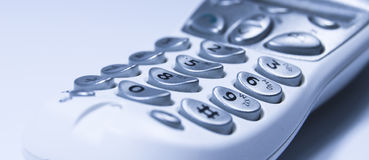 Telephone key pad Royalty Free Stock Photos