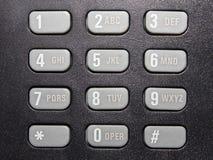 Telephone keyboard Stock Photo