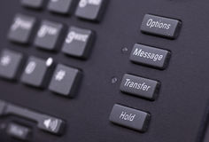Telephone keyboard Stock Images