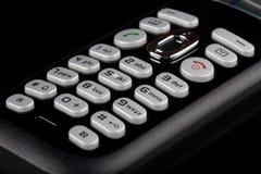 Telephone Keyboard Isolated Stock Photo