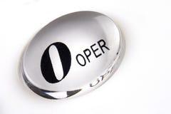 Telephone Keypad. Close up of telephone keypad on operator button Royalty Free Stock Photo