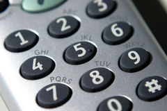 Telephone, Keypad Stock Photos