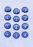 Telephone keypad Stock Photos