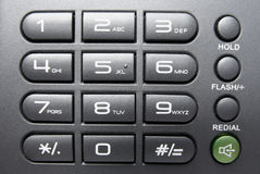 Telephone Keypad Royalty Free Stock Photos