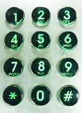 Telephone keypad. Royalty Free Stock Photo