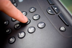 Telephone keypad. Closeup shot of a telephone keypad Royalty Free Stock Photography