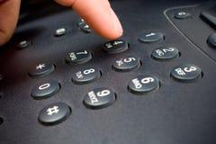 Telephone keypad. Closeup shot of a telephone keypad Royalty Free Stock Images