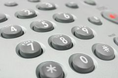 Telephone keypad stock photos