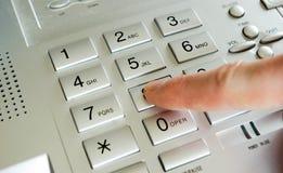 Telephone keypad Stock Image