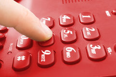 Telephone keypad Royalty Free Stock Image