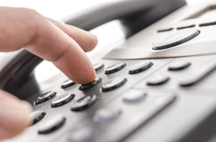 Telephone keypad detail Royalty Free Stock Photos