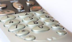 Telephone keypad. A photo of a telephone keypad Stock Images